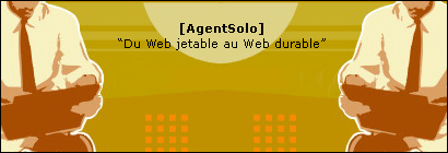 AgentSolo : Du Web jetable au Web durable