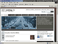 Capture d'�cran sous Browsercam - r�solution 800x600 - Internet Explorer 5.5 Windows 2000