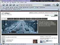 Capture d'�cran sous Browsercam - r�solution 800x600 - Netscape 7.0 RedHat Linux 8.0