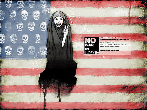 Digital Ultras - No War in Iraq